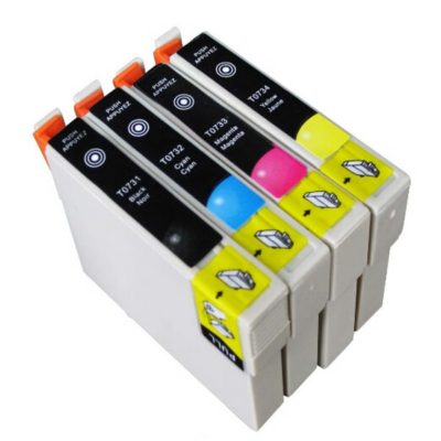 Compatible Epson T0731 Black Ink Cartridge